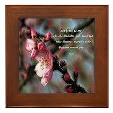 Poem from Rumi 2 Framed Tile