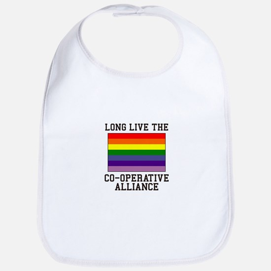 Long Live Co-operative Alliance Bib
