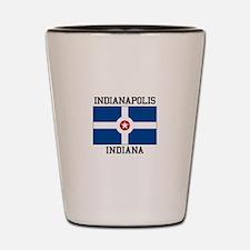 Indianapolis, Indiana Shot Glass