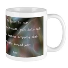 Poem from Rumi 2 Mugs
