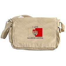 I Love Salzburg, Austria Messenger Bag