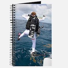 Scuba Diver Jump Journal