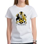 Wentworth Family Crest Women's T-Shirt