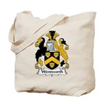 Wentworth Family Crest Tote Bag