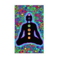 Chakra Energy Rectangle Decal