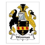 Wenman Family Crest Small Poster