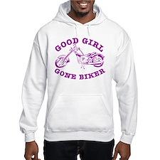 Good Girl Gone Biker #2 Hoodie