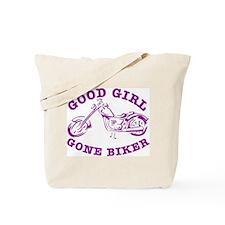 Good Girl Gone Biker #2 Tote Bag
