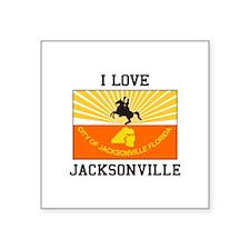 I Love Jacksonville Sticker