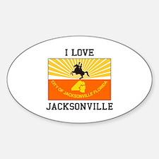 I Love Jacksonville Decal