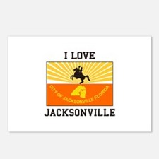 I Love Jacksonville Postcards (Package of 8)