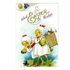 Cute Chicks Postcards (Package of 8)