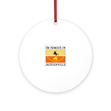 Famous Jacksonville Ornament (Round)