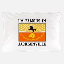 Famous Jacksonville Pillow Case