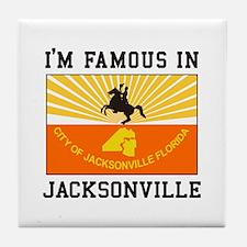 Famous Jacksonville Tile Coaster