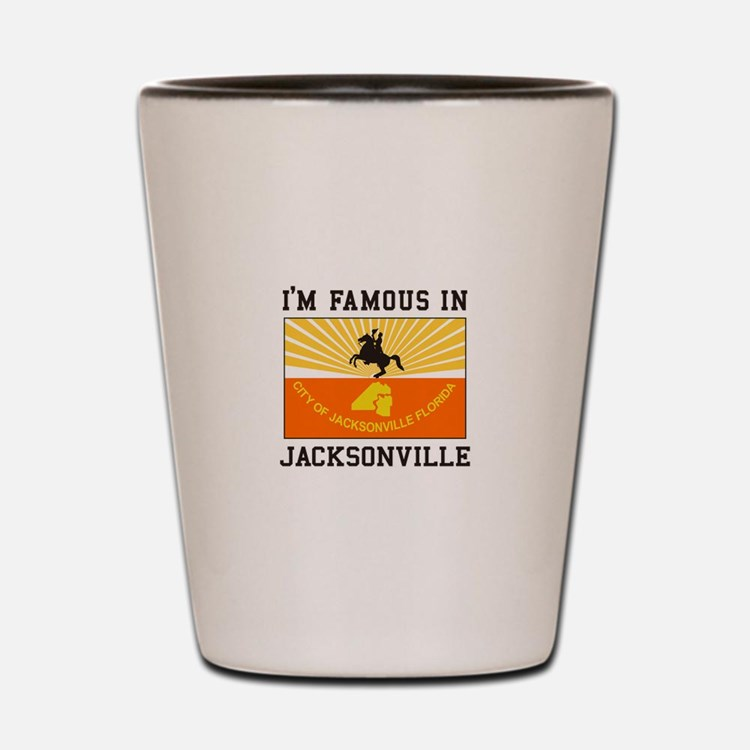 Famous Jacksonville Shot Glass