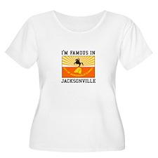 Famous Jacksonville Plus Size T-Shirt