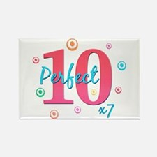 Perfect 10 x7 Rectangle Magnet