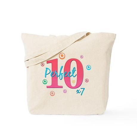 Perfect 10 x7 Tote Bag