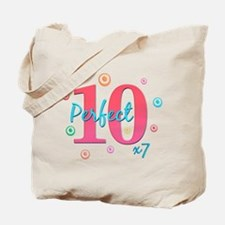 Perfect 10 x7 Tote Bag