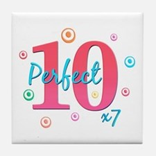 Perfect 10 x7 Tile Coaster