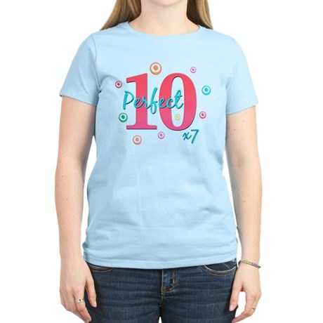 Perfect 10 x7 Women's Light T-Shirt