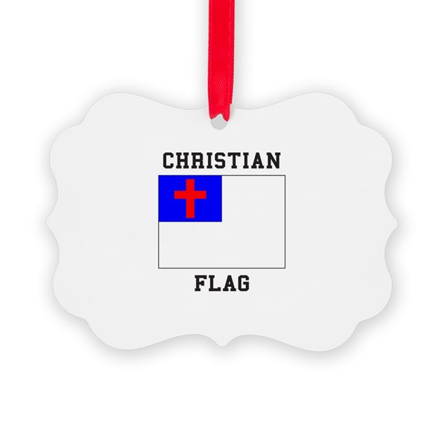 Christian Flag Coloring Page