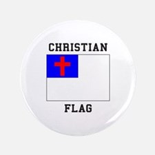 Christian Flag Button