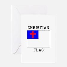 Christian Flag Greeting Cards