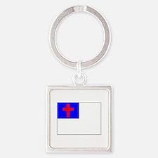 Christian Flag Keychains