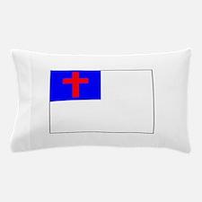 Christian Flag Pillow Case