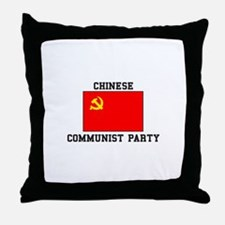 Chinese Communist Party Throw Pillow