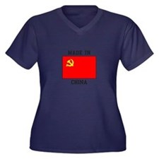 Made In China Plus Size T-Shirt