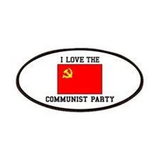 I Love Communist Party Patch
