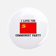 I Love Communist Party Button