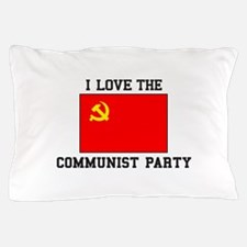 I Love Communist Party Pillow Case