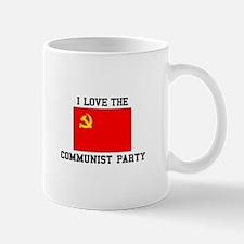 I Love Communist Party Mugs