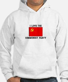 I Love Communist Party Hoodie