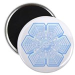 "Flurry Snowflake XVI 2.25"" Magnet (100 pack)"