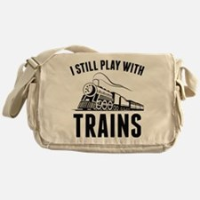 I Still Play With Trains Messenger Bag