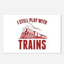 I Still Play With Trains Postcards (Package of 8)