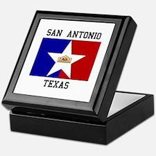 San Antonio Texas Keepsake Box