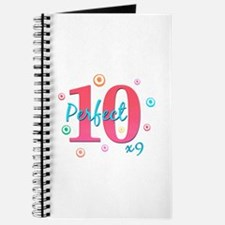 Perfect 10 x9 Journal