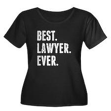 Best Lawyer Ever Plus Size T-Shirt
