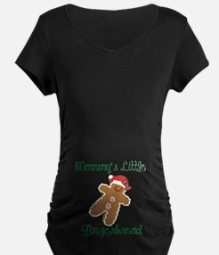 Mommys Little Gingerbread Maternity T-Shirt