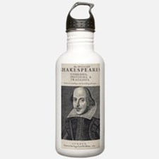 William Shakespeare Po Water Bottle