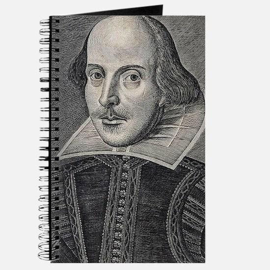 William Shakespeare Portrait Journal