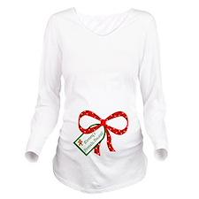 Mommys Favorite Present Long Sleeve Maternity T-Sh