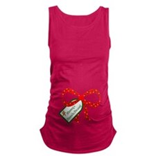 Mommys Favorite Present Maternity Tank Top
