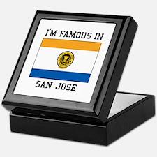 I'M Famous In San Jose Keepsake Box